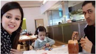 MS Dhoni spends quality time with wife Sakshi and Daughter Ziva ahead of face-off vs South Africa in Champions Trophy 2017