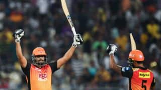 WATCH: SRH celebrate their first ever IPL win at Eden Gardens against KKR