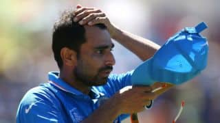 Mohammed Shami's father suffers heart attack