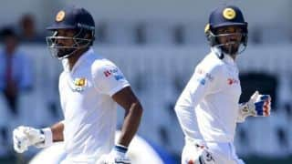 3rd Test, Day 2, Tea report: Sri Lanka make England's bowlers toil