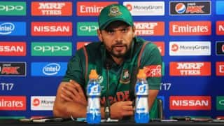 CT 2017: BAN could have scored 330 to 340 vs IND in S/F 2, feels Mortaza