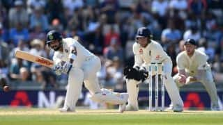 India vs England, 4th Test: Moeen Ali gets Virat Kohli for 58 on verge of tea break