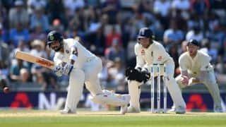 India vs England, 4th Test: Moeen Ali gets Virat Kohli for 58 on verge of tea break