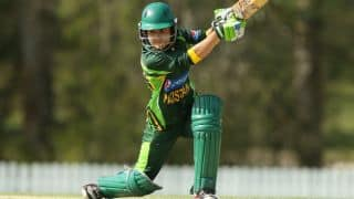 ICC Women's T20 World Cup 2016: Javeria Khan kept under observation after taking knock to jaw against West Indies