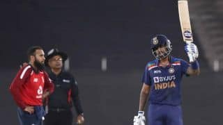 Suryakumar Yadav Shines With a Sublime Half-Century in 4th T20I Against England