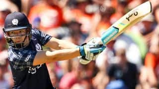 Scotland register 6-wicket win over Ireland in 3rd T20I to win series 2-0