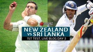NZ 171/1   Live Cricket Score, New Zealand vs Sri Lanka 2015-16, 1st Test at Dunedin, Day 3: New Zealand go to stumps with lead of 308