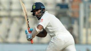 Gujarat on top despite Cheteshwar Pujara's fighting knock