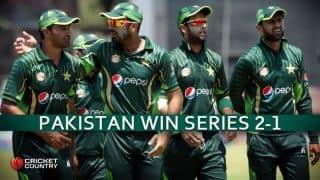 Pakistan thrash Zimbabwe by 7 wickets in 3rd ODI; win series 2-1