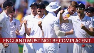 Ashes 2015: England must guard against complacency going into 2nd Test at Lord's
