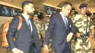 Indian cricket team departs for ICC world cup 2019, Virat Kohli, MS Dhoni at airport
