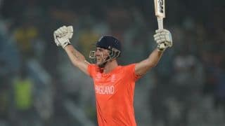 Hales's ton powers England to 6-wicket win over Sri Lanka
