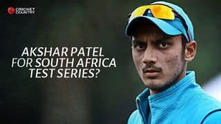 Akshar Patel must be considered for India vs South Africa 2015 Test series