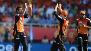 Live Cricket Scorecard, IPL 2015: Sunrisers Hyderabad vs Mumbai Indians Match 56 at Hyderabad