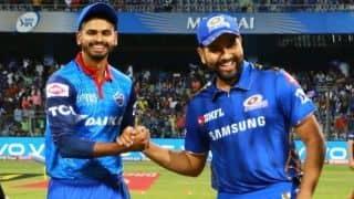 IPL 2019: MI vs DC, Mumbai won toss and decided to bat first