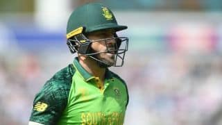 Cricket World Cup 2019: We have been outplayed in all three departments: Faf du Plessis
