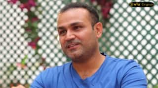 Watch Sehwag compare 'wives' with 'umpires'; share secret mantras to keep them happy