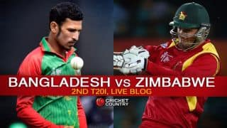 ZIM 136/7 in 19.5 overs | Live Cricket Score Bangladesh vs Zimbabwe 2015, 2nd T20I at Dhaka: Zimbabwe win cliff-hanger in dramatic fashion!