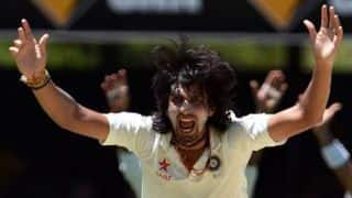 Lahiru Thirimanne dismissed for 62 by Ishant Sharma in 2nd Test at Colombo