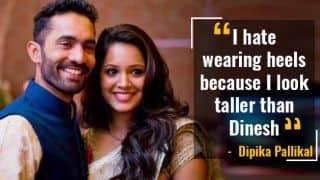 Dinesh Karthik's wife Dipika Pallikal reveals why she hates wearing heels