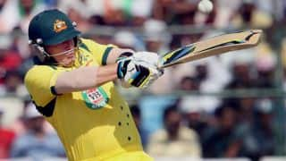 Michael Clarke backs Aaron Finch to cement opening spot for ICC World Cup 2015 squad