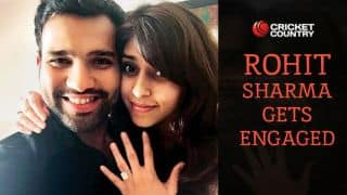 Rohit Sharma gets engaged to Ritika Sajdeh