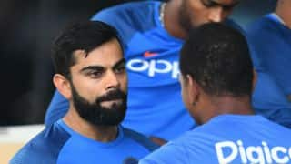 Kohli assures visitors focused on winning series than contemplating IND's next coach
