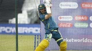 If Glenn Maxwell feels confident enough to get out there, he'll play against South Africa, says Skipper Aaron Finch