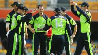 Live Cricket Score Ireland vs Zimbabwe ICC Cricket World Cup 2015, Pool B Match 30 at Hobart, ZIM 326 in 49.3 Overs: Ireland clinch an absolute thriller
