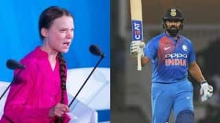 We owe the future generations a safe planet: Rohit Sharma praises 16-year-old Swedish climate activist Greta Thunberg
