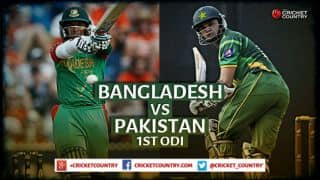 Live Cricket Score Bangladesh vs Pakistan 2015,1st ODI, Pak 250 in 45.2 Overs: Bangladesh win by 79 runs