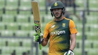 Faf du Plessis feels South Africa outsmarted Bangladesh in T20I series