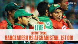 AFG 258 in 50 overs, Live Cricket Score, Bangladesh vs Afghanistan, 1st ODI: AFG lose by 7 runs