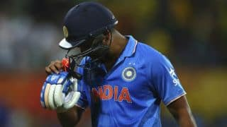 Rohit Sharma's wicket in India vs Australia semi-final, ICC Cricket World Cup 2015