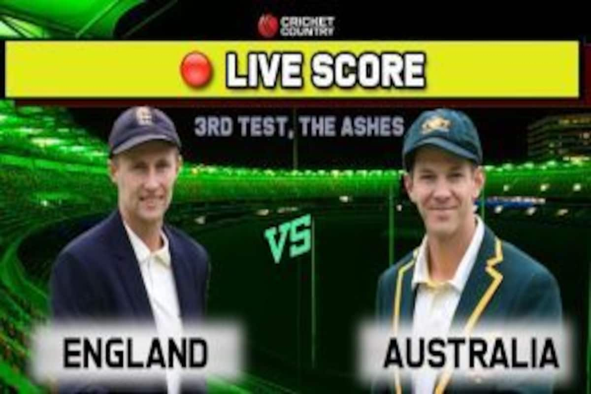 Live cricket score, ball by ball commentary, ENG vs AUS The