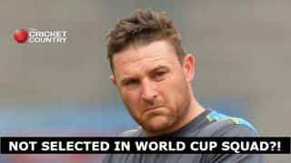 Brendon McCullum a surprise omission from All Blacks Rugby World Cup side!
