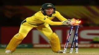 Alyssa Healy overtakes MS Dhoni to record most dismissals in T20I by a wicket-keeper
