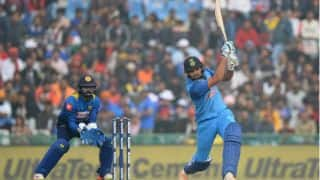 Rohit Sharma annihilates Sri Lanka with 3rd double hundred in ODIs