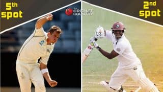 Tim Southee, Shivnarine Chanderpaul move up in ICC Test Rankings after first West Indies-New Zealand Test