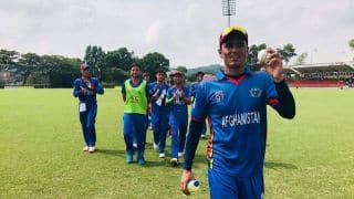 Afghanistan's Mujeeb Zadran becomes first 21st century-born male player to play international cricket