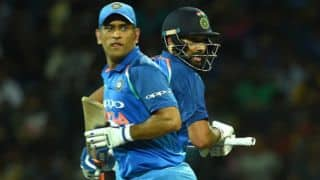 MS Dhoni ideal at No. 4 for India, believes Rohit Sharma