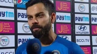 Kohli unhappy with DRS decision against Ashton Turner
