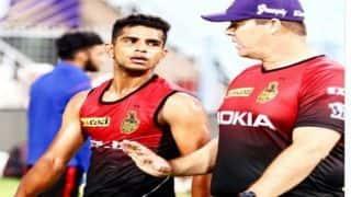IPL 2018: शिवम मावी ने कहा- प्लेऑफ में पहुंचने के लिए हमें केवल निकालने हैं चार से पांच मैच