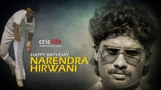 Birthday Special: Narendra Hirwani, the bespectacled, head-banded legspinner who made a stunning Test debut