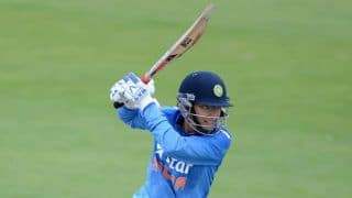 England Women restrict India Women to 193/8