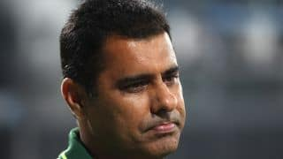 Waqar Younis not thinking about resigning as Pakistan head coach