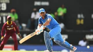 IND vs WI, 4th ODI: MS Dhoni's tortoisesque knock and other highlights