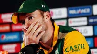 ICC Cricket World Cup 2015: South Africa's ODI chasing woes continue