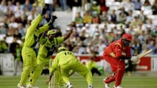 World Cup 1999: Pakistan crush Zimbabwe as Saqlain Mushtaq takes hat-trick