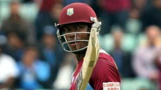West Indies set Sri Lanka tricky target of 225 in second ODI at Colombo after rain-affected innings